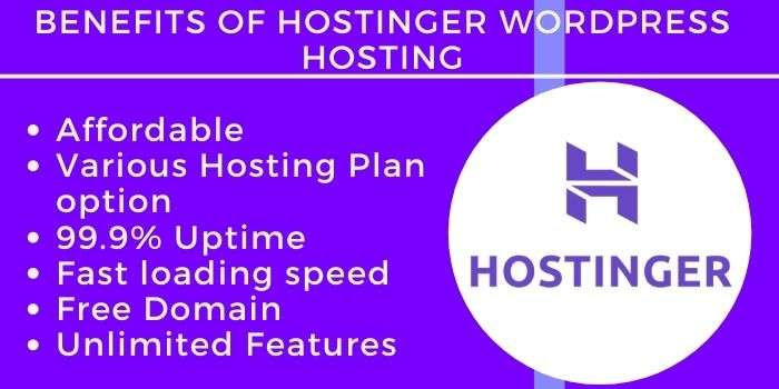 Benefits Of Hostinger WordPress Hosting