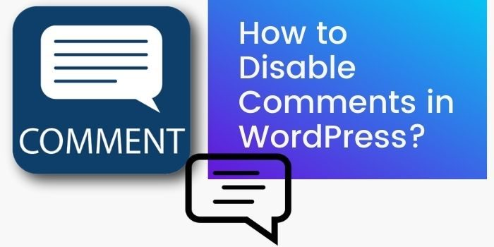 Disable Comment In WordPress