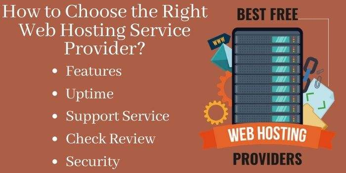 Features to choose web hosting provider