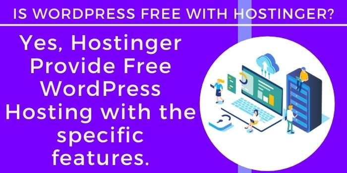 Hostinger Free WordPress Hosting