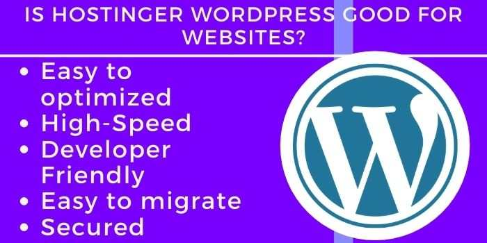 Qualities of Hostinger WP Hosting