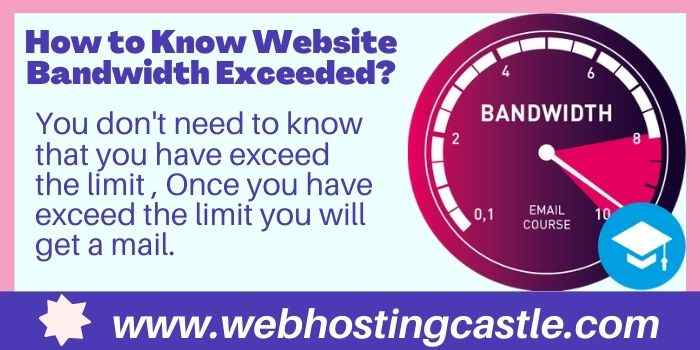 Tips to exceed Bandwidth